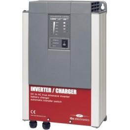 Inversor 1600VA 12Vcc con cargador de baterías de 60A TBS PSC 1600-12-60