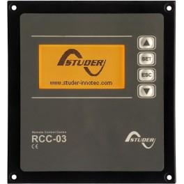 Datalogger y programador RCC-03 para Studer Xtender XTS-XTM-XTH-VT series