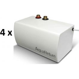 Caja de 4 ahorradores de agua y energía AquaReturn
