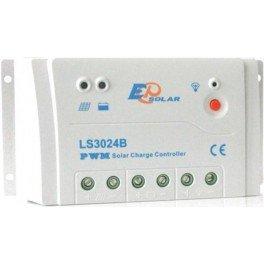 Regulador de carga solar de 30A, 12-24V EPSolar LS3024B