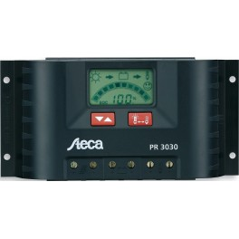 Regulador solar 30A y 12-24V Steca PR3030 Display LCD Digital