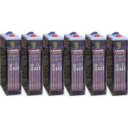 Batería estacionaria Exide Classic 1990Ah, C120, 6 vasos x 2V