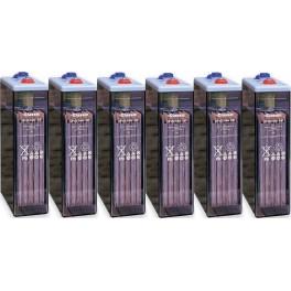 Batería estacionaria Exide Classic 4100Ah, C120, 6 vasos x 2V