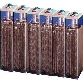 Baterias estacionarias BAE Secura modelo 8 PVS 1200 de 1160Ah C100, conjunto de 12V