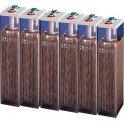 Baterias estacionarias BAE Secura modelo 6 PVS 660 de 595Ah C100, conjunto de 12V