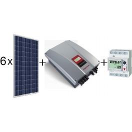 Kit autoconsumo de 1260Wp SCL sin inyección a red, con inversor Ingeteam 2.5TL