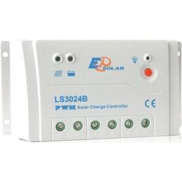 Regulador de carga solar de 10A, 12-24V EPSolar LS1024B
