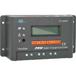 Regulador de carga solar de 10A, 12-24V EPSolar VS1024BN