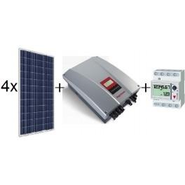 Kit autoconsumo de 840Wp SCL sin inyección a red, con inversor Ingeteam 2.5TL