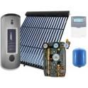 Equipo solar de circulación forzada de 500 litros y 40 tubos de vacío, modelo 2M-Sierra