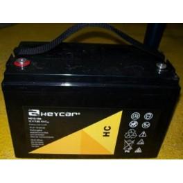 Batería HEYCAR HC12-100 12V 100Ah C10