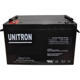 Batería AGM de 165Ah C20 UNITRON