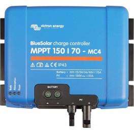 Regulador solar MPPT de 12-24-36-48V y 70A Victron BlueSolar MPPT 150/70-MC4