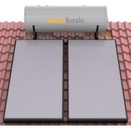 Equipo solar termosifónico de 300 litros modelo Solarbasic 300