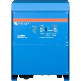 Inversor-cargador de 48V y 8000W continuos con cargador de 140A Victron Quattro 48/10000/140-100/100