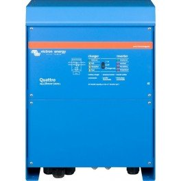 Inversor-cargador de 24V y 6500W continuos con cargador de 200A Victron Quattro 24/8000/200-100/100