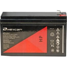 Batería HEYCAR HP12-6,5 12V 6Ah C20