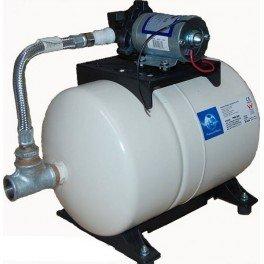 Bomba de presión de 12V con calderín de 20 litros, con activación por presostato incorporado, bomba SHURFLO 2088-443-144