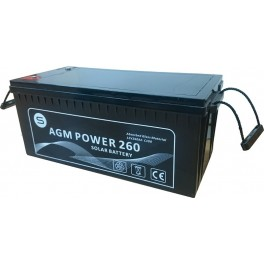 Batería monobloc AGM 12Vcc 320Ah C100 modelo AGM Power 320