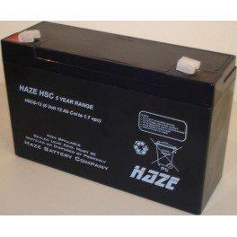 Batería HAZE HSC6-12 6V 12Ah