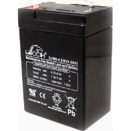 Batería AGM de 6V y 4,5A LEOCH DJW6-4.5