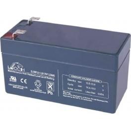 Batería AGM de 12V y 1,2A LEOCH DJW12-1.2