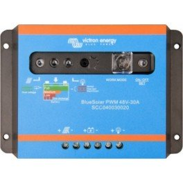 Regulador de 30A y 48V Victron BlueSolar PWM Light