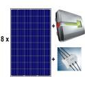 kit autoconsumo 2.160Wp trifásico inyección 0, formado por inversor Kostal Piko 4.2 + BA SENSOR + paneles CSUN