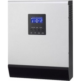 Inversor-cargador-regulador de 24V y 2400W con cargador de baterías de 30A y regulador PWM de 50A, modelo Power 2424 de Huber