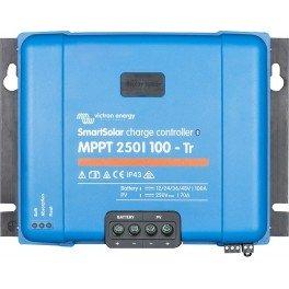 Regulador solar MPPT Victron SmartSolar MPPT 250/85-Tr de 85A y 250V de campo solar fotovoltaico