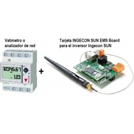 Kit inyección cero y monitorización para inversor Ingeteam Ingecon Sun