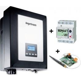 Kit autoconsumo de hasta 3kW inyección cero Sun1Play con monitorización por internet de la instalación
