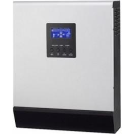Inversor-cargador-regulador de 24V y 2400W con cargador de baterías de 30A y regulador PWM de 50A, modelo Huber ONE 3024