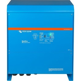 Inversor-cargador de 48V y 12000W continuos con cargador de 200A Victron Quattro 48/15000/200-100/100