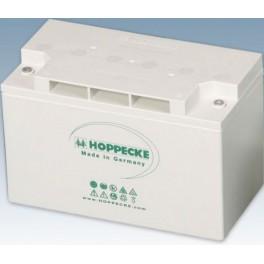 Batería AGM 12V y 150Ah C100 Hoppecke SunPower VR-M de 7000 ciclos