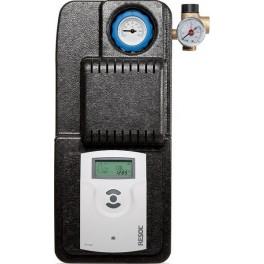 Estación solar de bombeo RESOL Flow Sol Basic con termostato Omega Beta