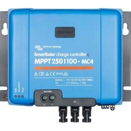 Regulador solar MPPT Victron SmartSolar MPPT 250/100-MC4 de 100A y 12-24-36-48V