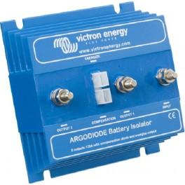 Separador de 2 baterías y 80A con puente de diodos, Victron Argodiode 80-2AC
