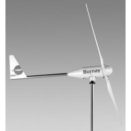 Aerogenerador Bornay WIND 25.2+ de 3.000W de potencia nominal y 3.500W de potencia pico