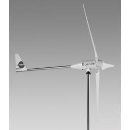 Aerogenerador Bornay WIND 25.3+ de 5.000W de potencia nominal y 7.500W de potencia pico