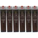Batería estacionaria 448Ah C100, 6 vasos x 2V SUNLIGHT 6 OPzS 300