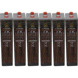 Batería estacionaria 651Ah C100, 6 vasos x 2V SUNLIGHT 6 OPzS 420