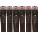 Batería estacionaria 739Ah C100, 6 vasos x 2V SUNLIGHT 7 OPzS 490