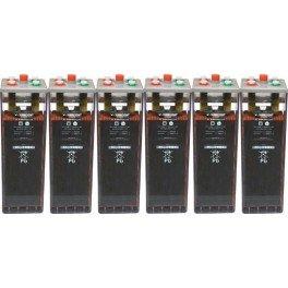 Batería estacionaria 1.565Ah C100, 6 vasos x 2V SUNLIGHT 10 OPzS 1000