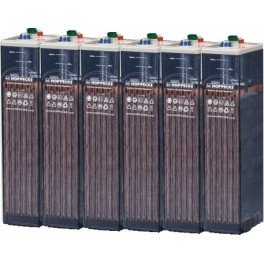 Batería estacionaria 290Ah C100, 6 vasos x 2V HOPPECKE 4 OPZS 200