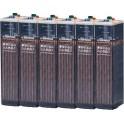 Batería estacionaria 436Ah C100, 6 vasos x 2V HOPPECKE 6 OPZS 300