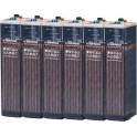 Batería estacionaria 735Ah C100, 6 vasos x 2V HOPPECKE 7 OPZS 490