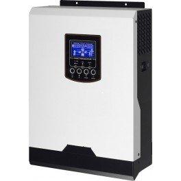 Inversor-cargador-regulador Huber Basic ONE 1012 de 12V y 1000W con cargador de baterías de 20A y regulador PWM de 50A