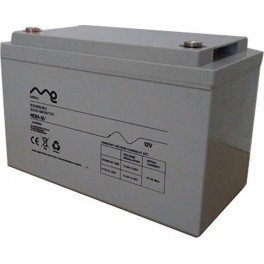 Batería monbloc ME de AGM de 12V y 100Ah en C10 y 125Ah en C100