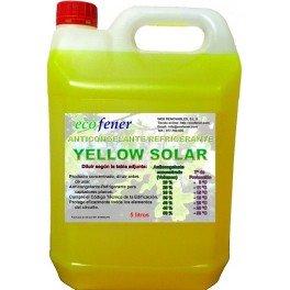 Garrafa 5 litros de anticongelante-refrigerante concentrado para uso solar